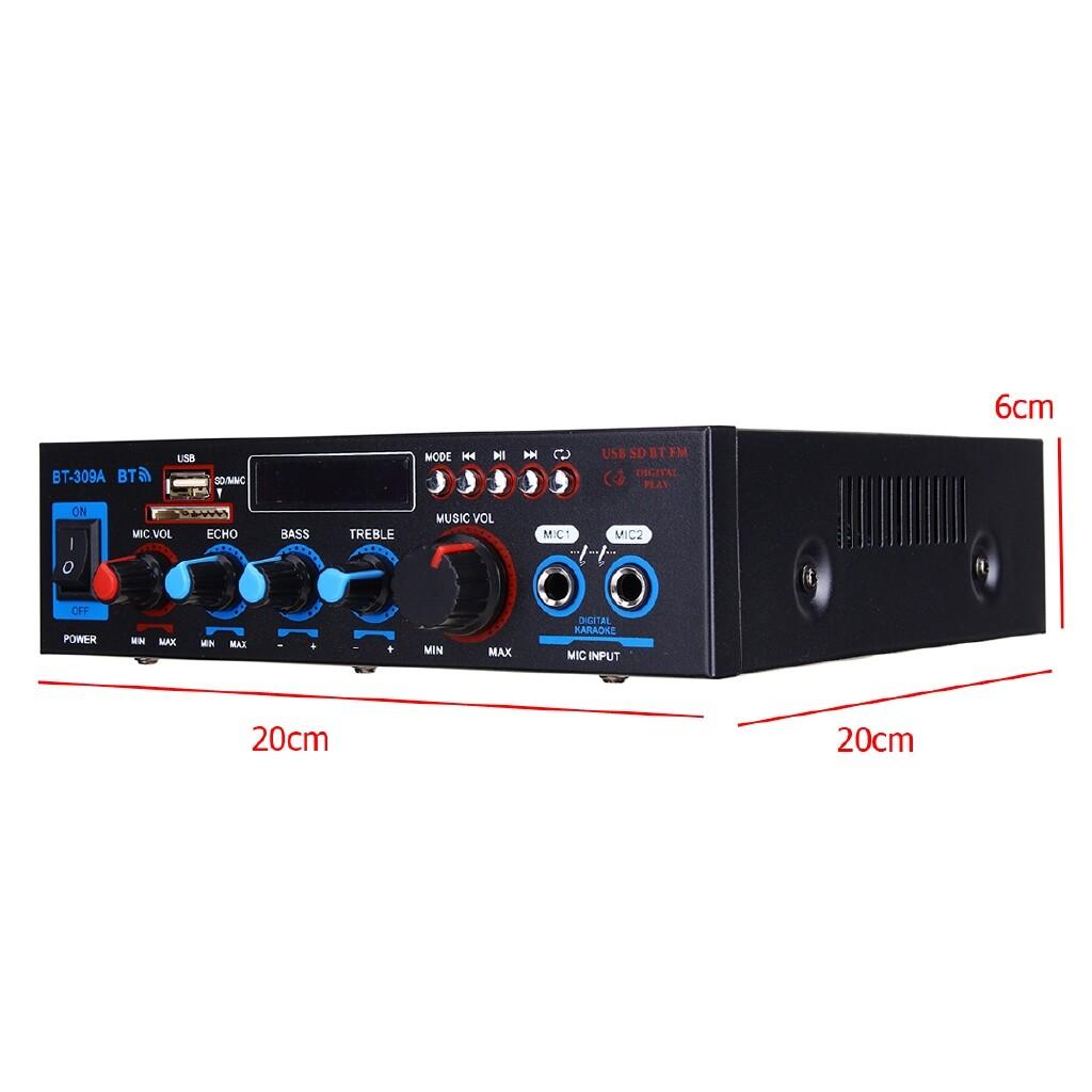 DIY Tools - 12V BLUETOOTH HiFi Digital Audio Stereo Power Amplifier Remote Control Car Home - Home Improvement