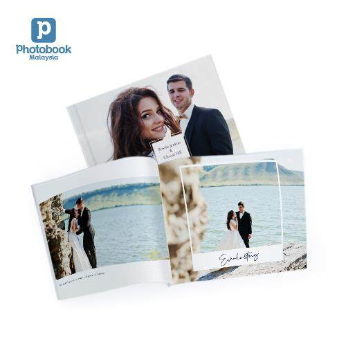 [e-Voucher] Photobook Malaysia 8 x 6 Small Landscape Softcover Photo Book 40 Pages