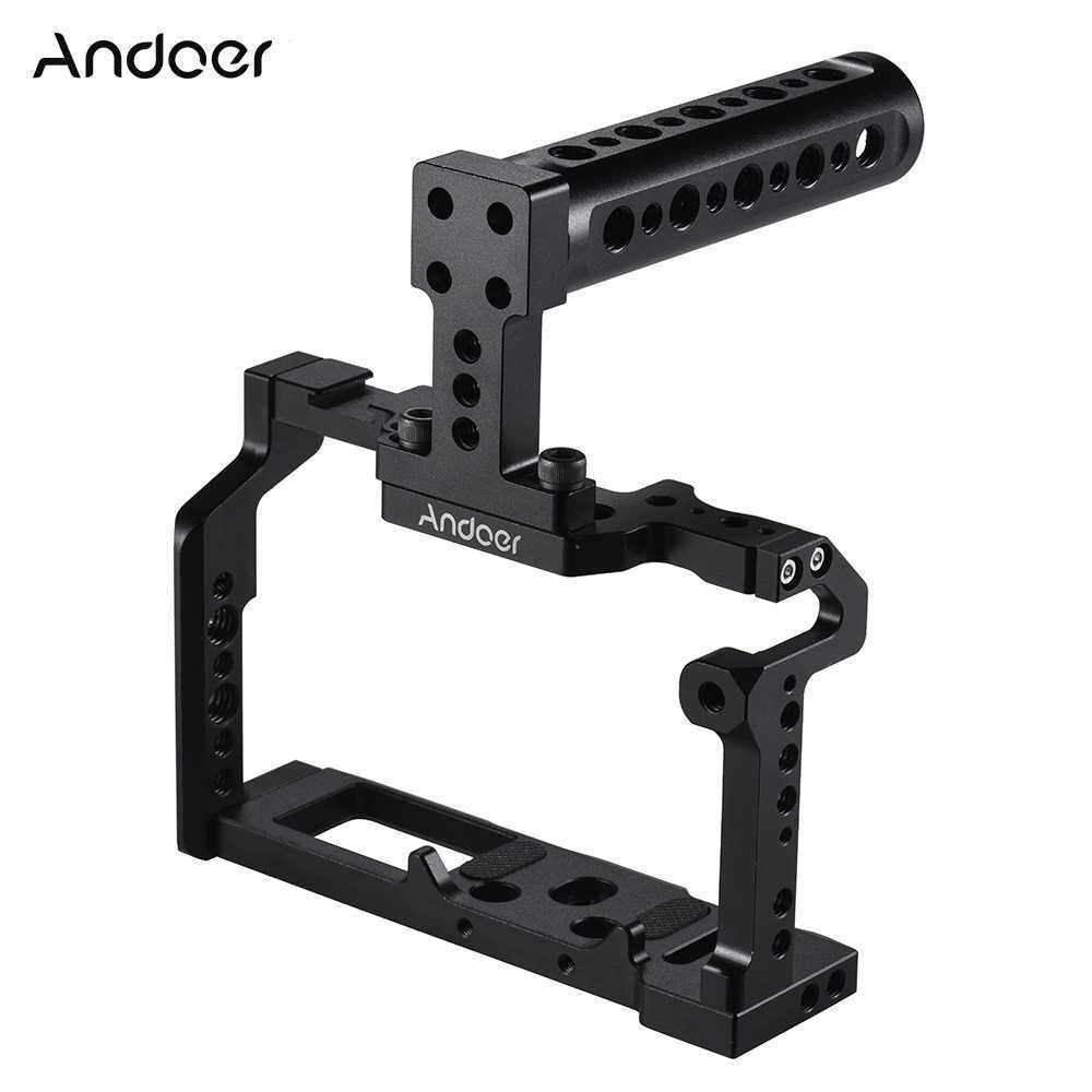 Andoer Aluminum Alloy Camera Video Cage Top Handle Kit Film Making System for Fujifilm XT2 (2)