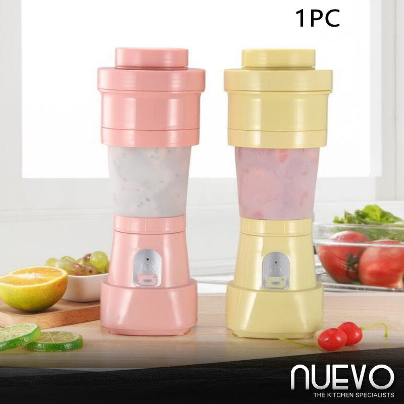 Portable Foldable Electric Juicer Cup USB Rechargeable Kitchen Personal Blender Daily Multipurpose Milk Home