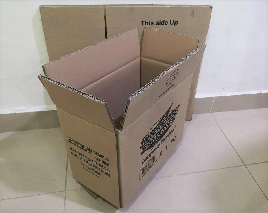 10pcs Printed Carton Boxes (L335 X W180 X H268mm)