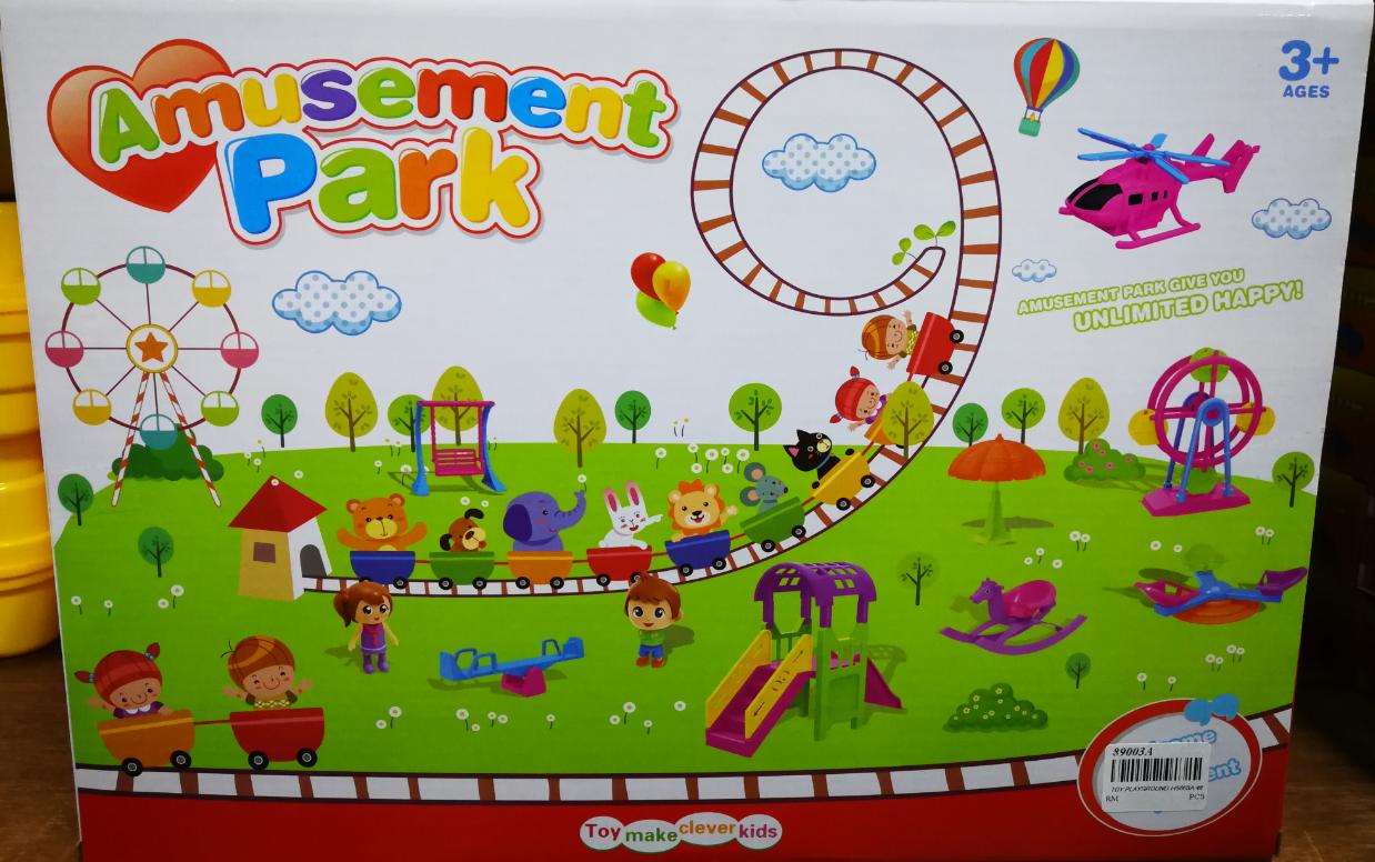 Amusement Park Combination Toy Set for Kids