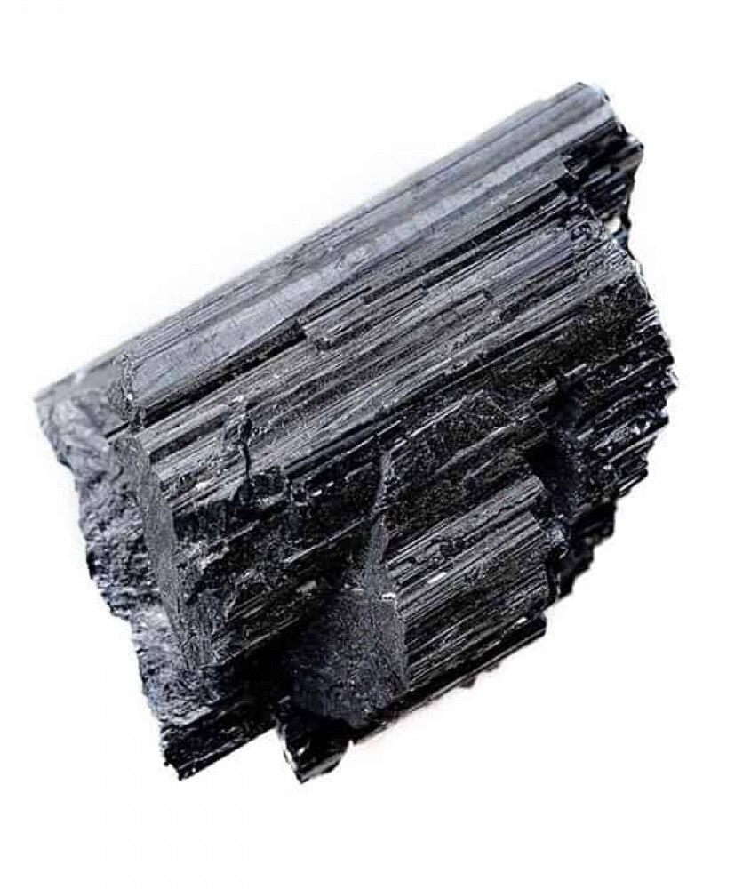 Natural Black Tourmaline Quartz Crystal/ Mineral Crystal/ Crystal Stone/ Healing Material Crafts
