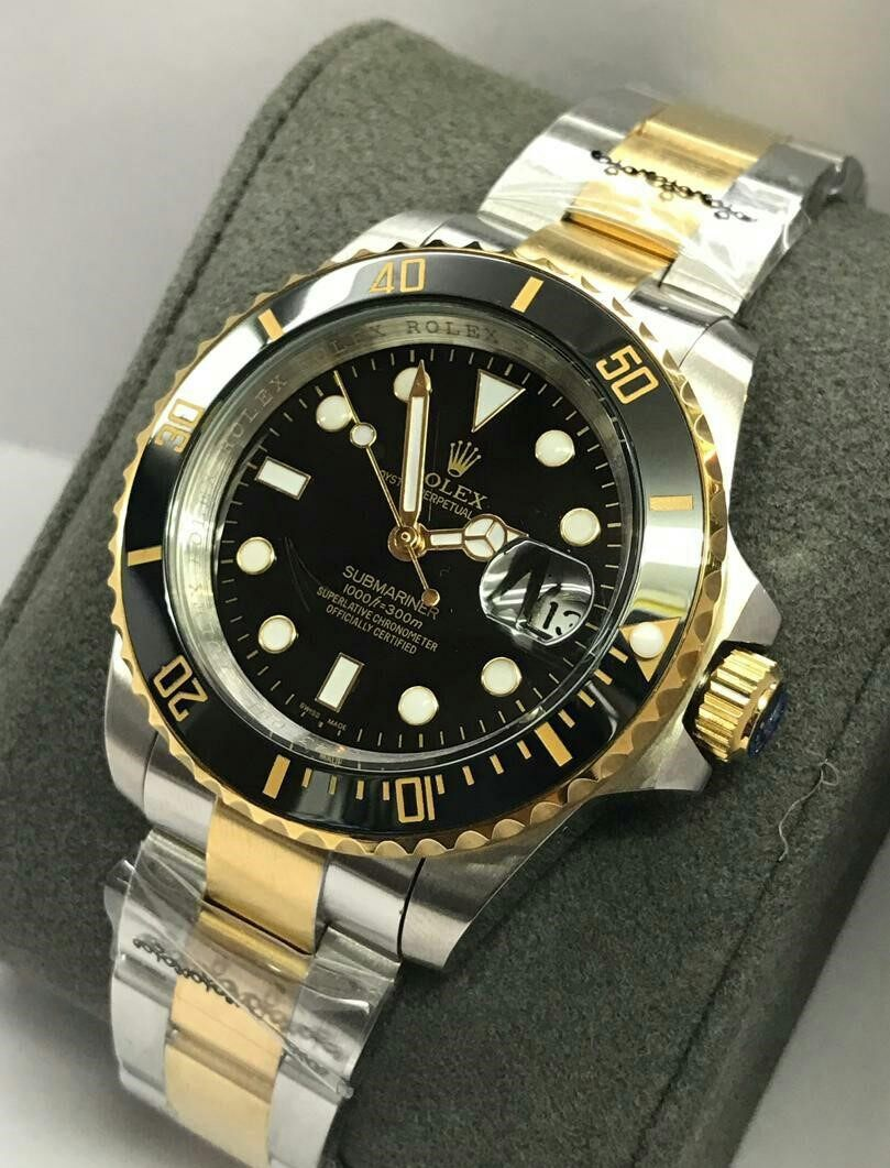 14 DAYS MONEY BACK GUARANTEE {SHOCKING DEAL}ROLEX_SUBMARINER AUTOMATIC MEN WRIST WATCH