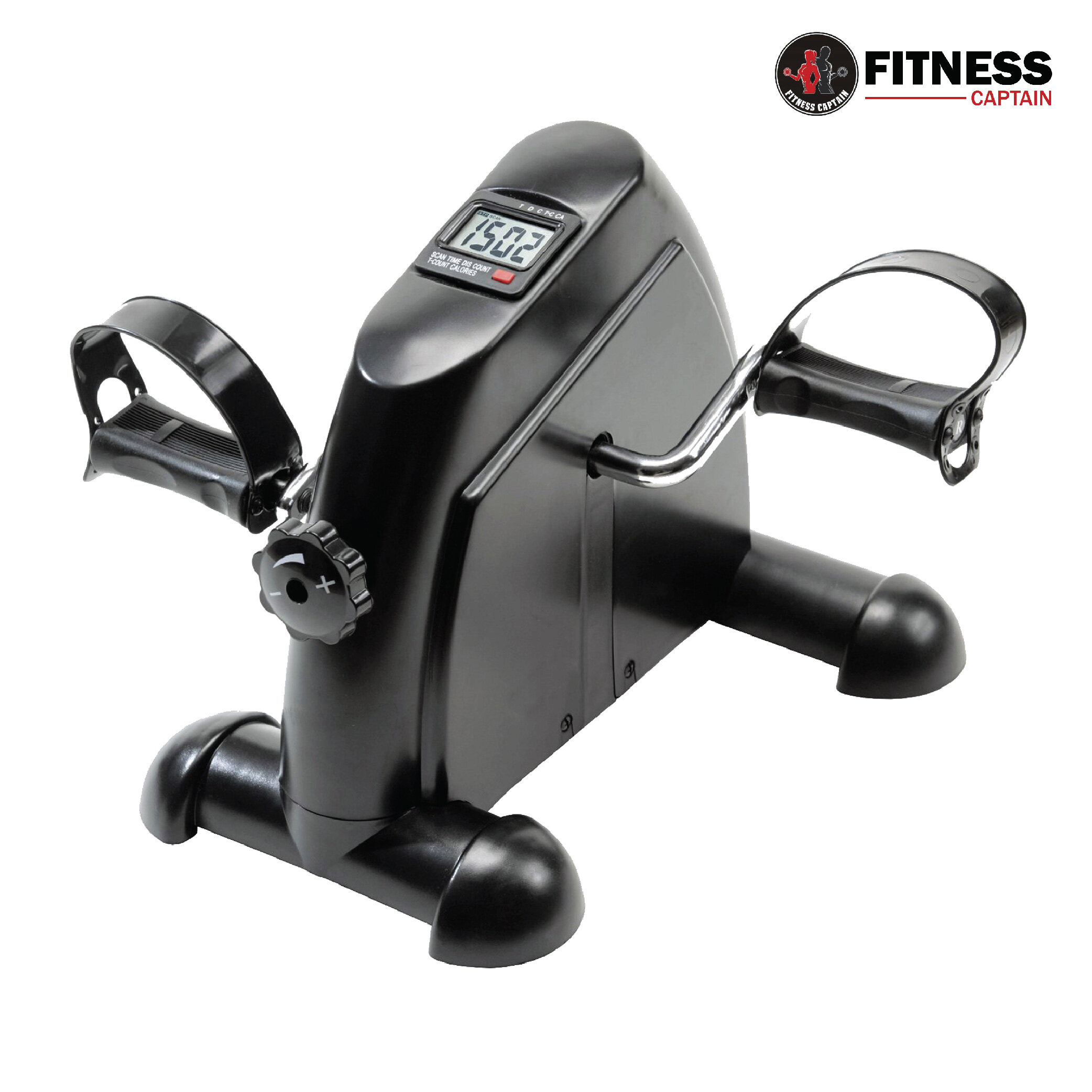 Fitness Captain Mini Portable Hand Foot Cardio Cycle Exercise Pedal Bike (COLOR RANDOM)