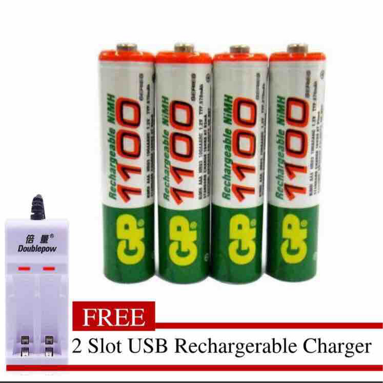 Preferred Premium Quality GP AA 1100mAh 1.2V Rechargeable Battery