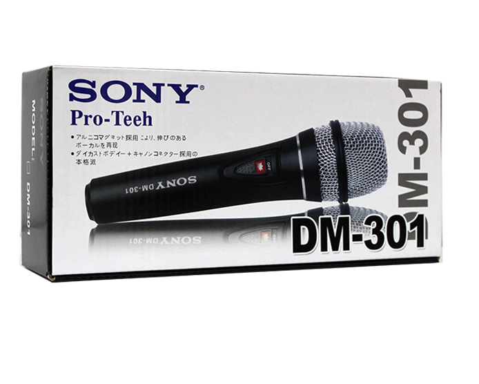 Sony DM-301 Professional Dynamic Microphone For Karaoke/Vocal