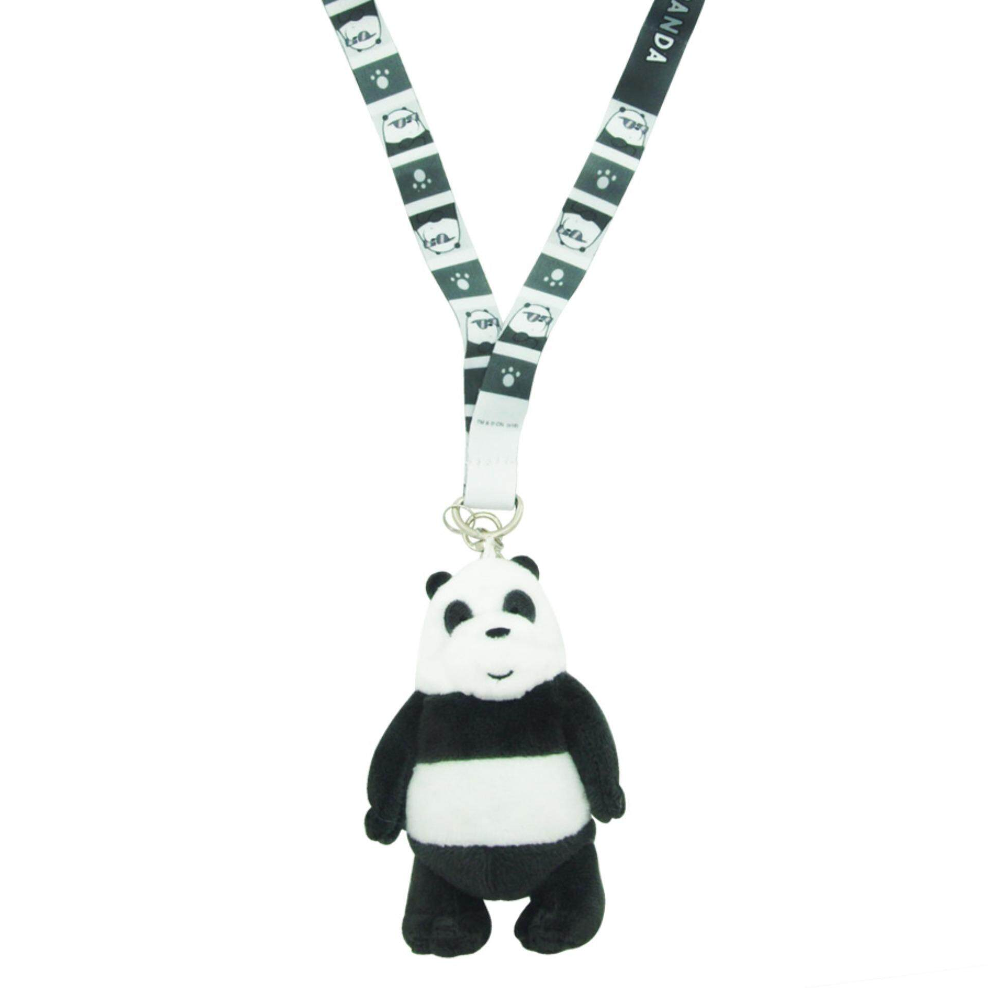 We Bare Bears Lanyard - Panda