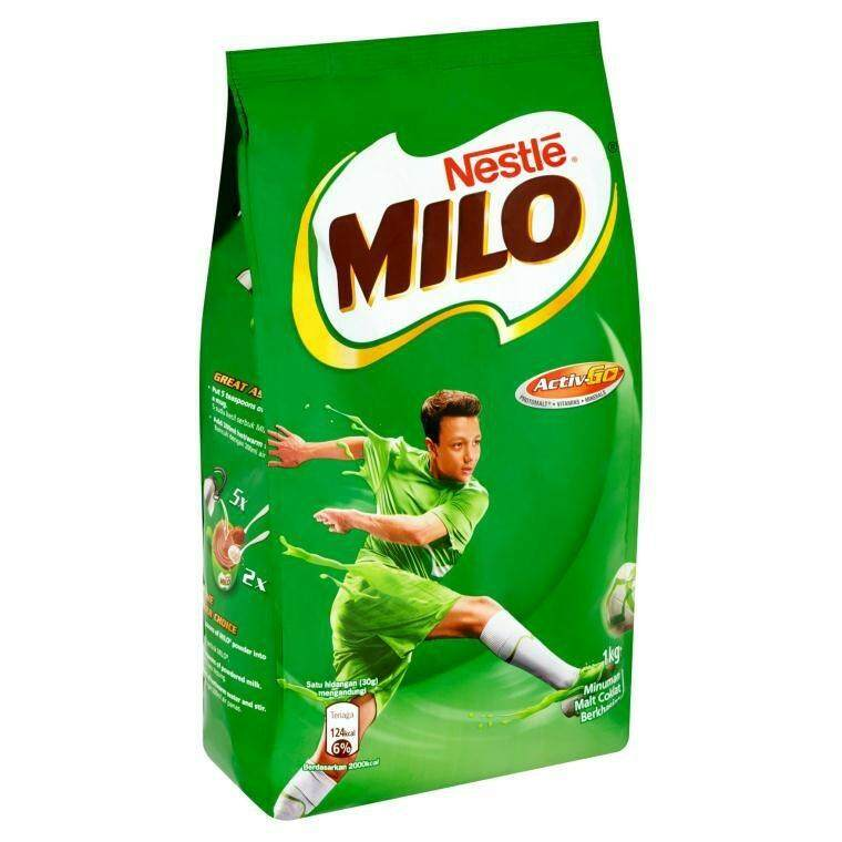 Milo Active Chocolate Malt Drink  1KG READY STOCK