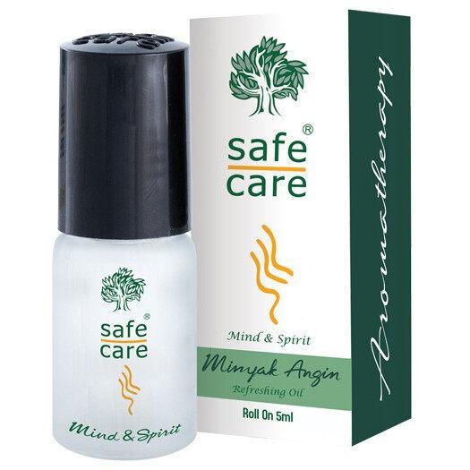 Safecare roll on 5ml sebotol minyak angin aromatherapy refreshing oil safe care