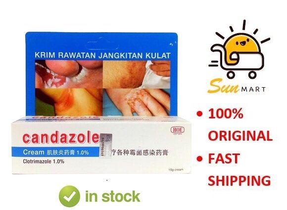 Candazole 1.0% Cream  (15g)