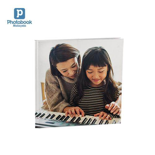 [e-Voucher] Photobook Malaysia 8 x 8 Small Square Imagewrap Hardcover Photo Book, 40 Pages