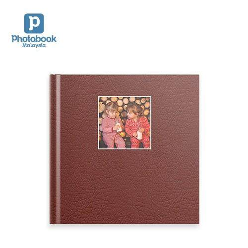 """[e-Voucher] Photobook Malaysia - 8"""" x 8"""" Small Square Debossed Hardcover Photobook, 40 pages"""
