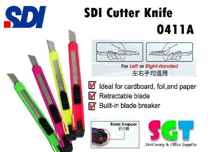 SDI Cutter Knife 0411A — Size Small 48 pcs