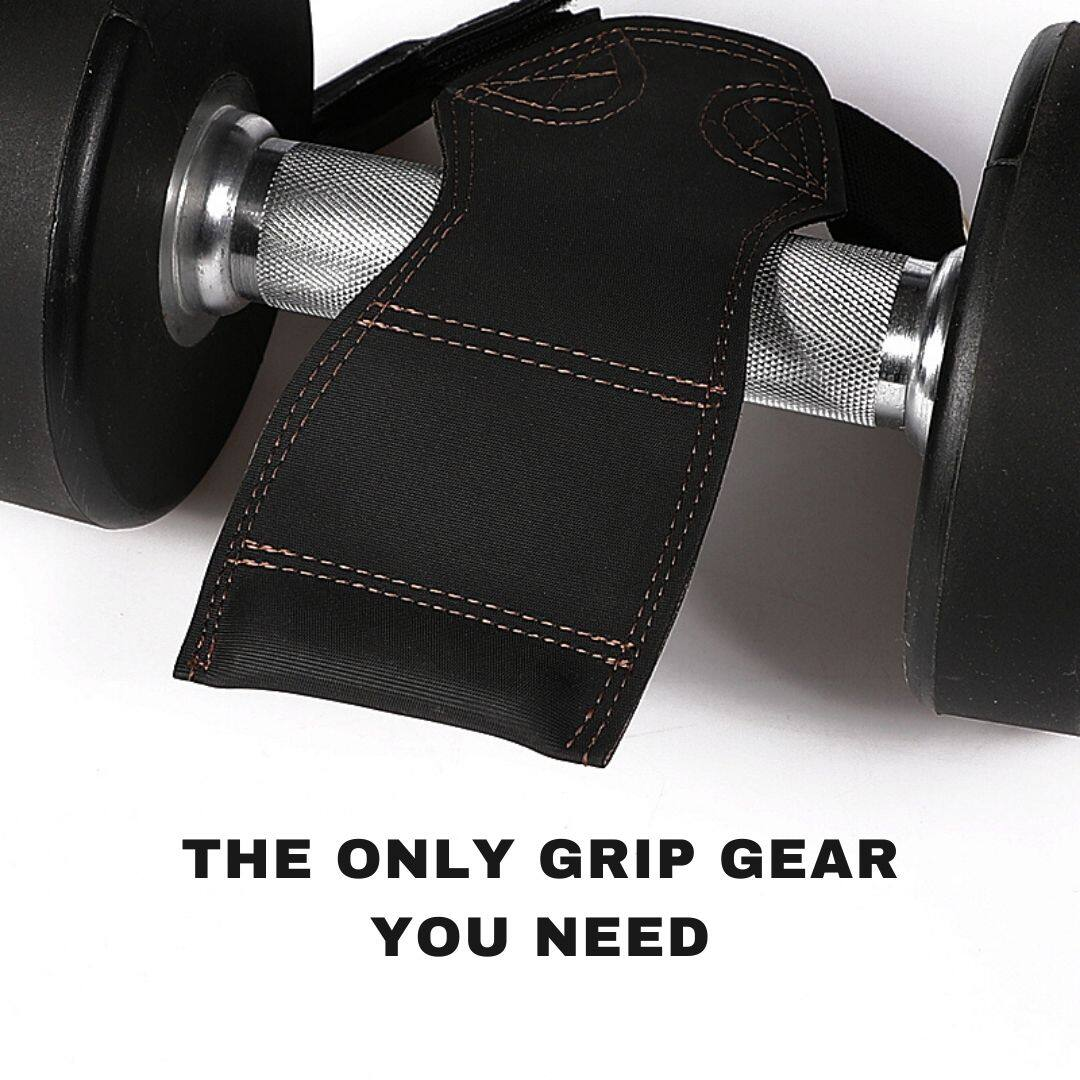 FITUALIZED Versa Grips Padded Deadlift Straps for Weightlifting Excellence- International Quality- No Chemical Smell-1 Size Fits All- Adjustable- Stop Suffering Through Crappy Lifting Straps, The Only Grip Gear You Need, No More Slips Chaffings Blisters