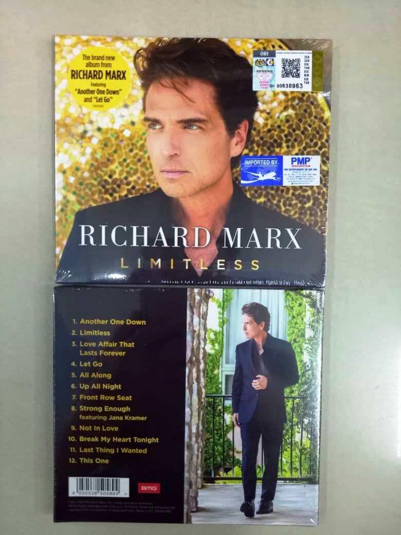 Richard Marx - Limitless Imported CD