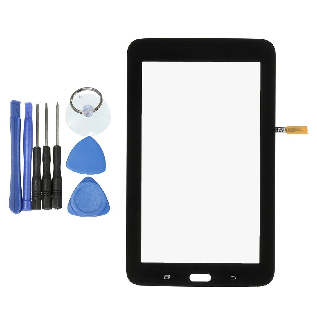 Android Tempered Glass - Touch Screen Glass Digitizer + Tool For Samsung Galaxy Tab 3 Lite T7.0 WiFi - Screen Protectors