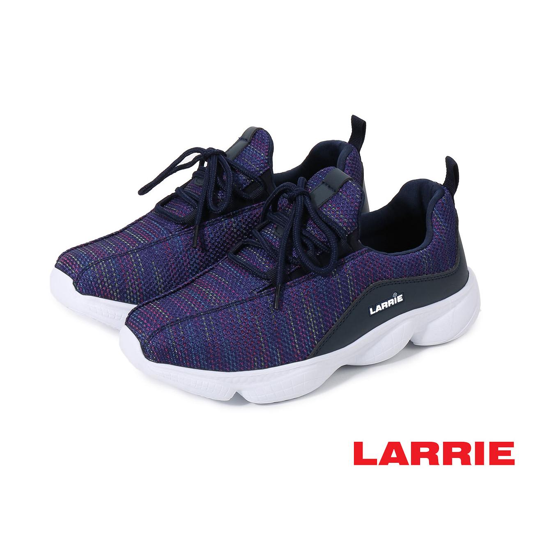 Larrie Navy Lace Up Lightweight Sporty Sneaker - L61915-KN01SV-43