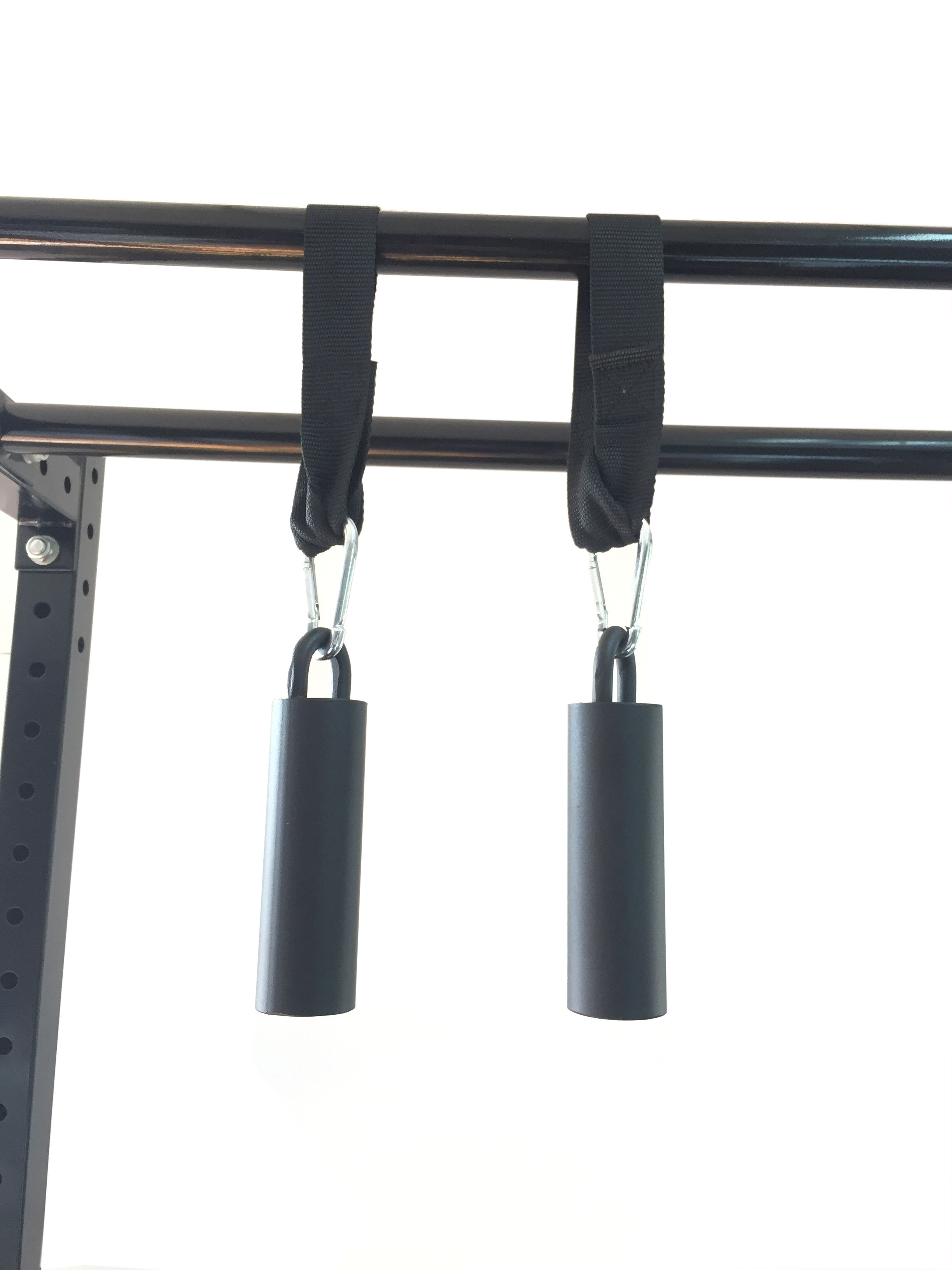FITUALIZED Cannonball Grips (Pair) - Versatile Hand & Grip Strength Trainer - Hand Exerciser & Grip Strengthener - Ideal For Pull-Ups, Barbells, Dumbbells, Kettlebells & Weights