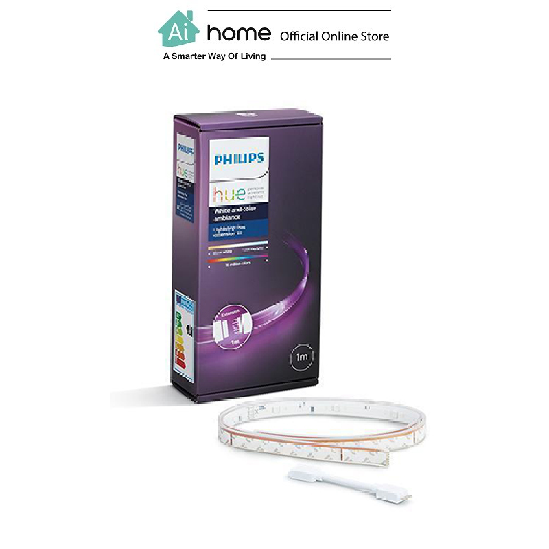 PHILIPS HUE Lightstrip Plus (1 Meter Extension) with 2 Year Malaysia Warranty [ Ai Home ]
