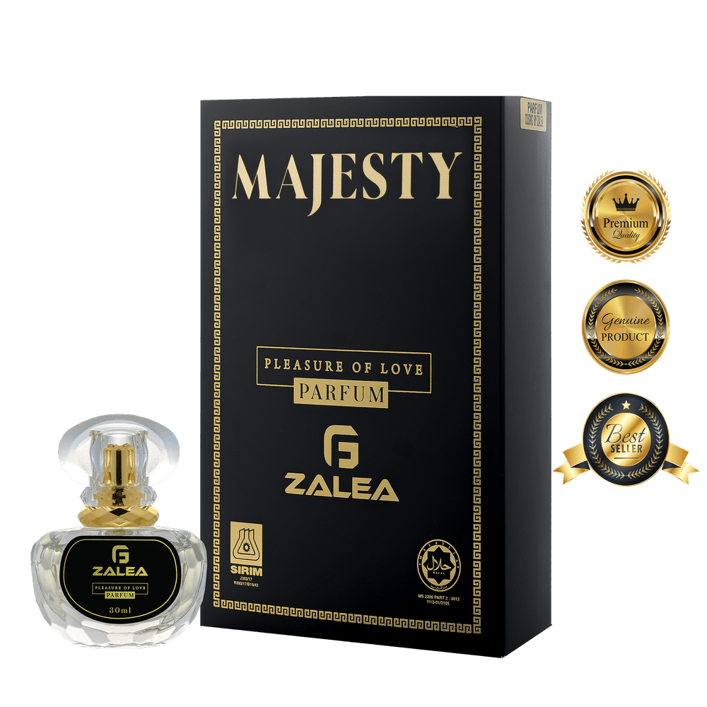 ZALEA Majesty Premium Halal Perfume - Lasting Up To 24 Hours (30ml)