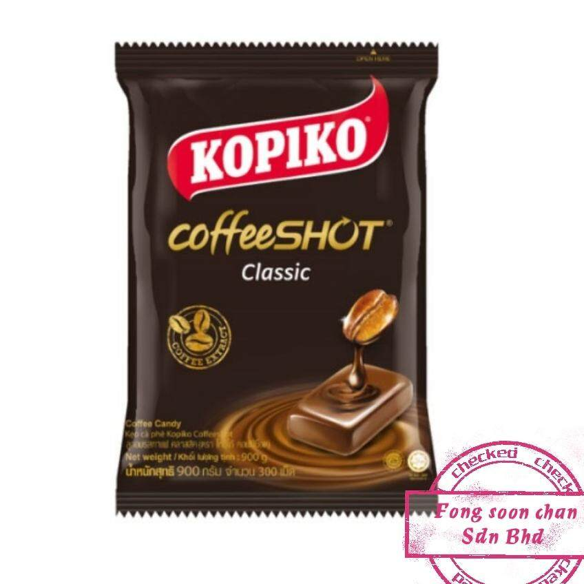 [FSC] Kopiko Coffee-Shot Candy Party pack 900gm