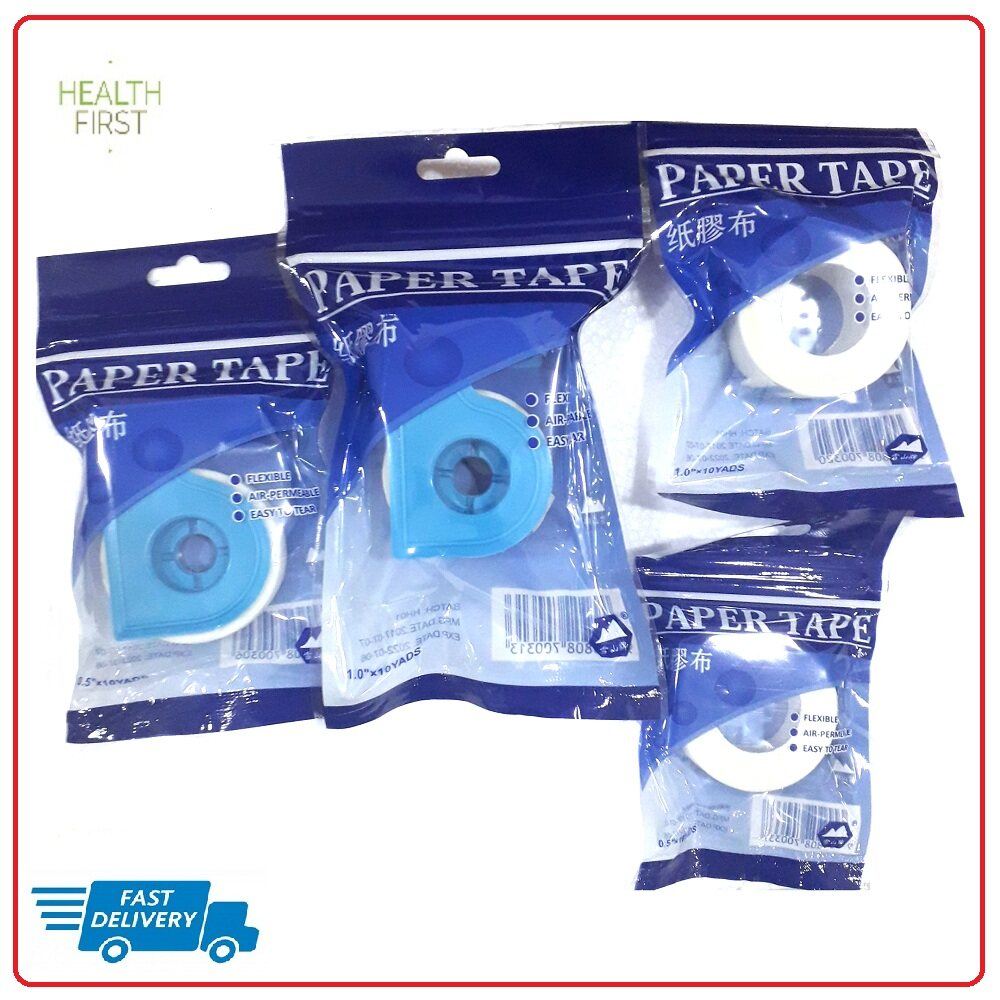 PAPER TAPE 1/2 X 10Y WITHOUT CUTTER