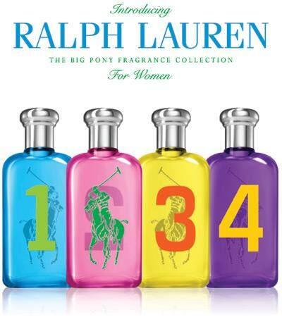 RALPH LAUREN Fragrance Big Pony Authentic Women Fragrance