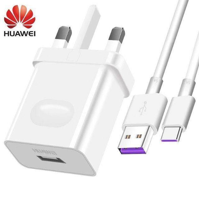 LOCAL SELLER Ready Stock ~100% Original Huawei 22.5W 4.5/5A Type C Super Fast Charging Charger