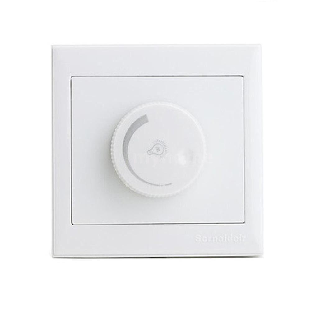 Lighting - AC220V 300W Light-emitting Diode Dimmer Switch Brightness Controller for Ceiling Light Downlight - WHITE