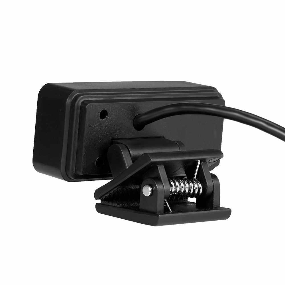 2 Million Pixels High Definition USB Camera Fixed Focus Webcam Built-in Microphone Drive-free Web Camera for PC Laptop Black (1)