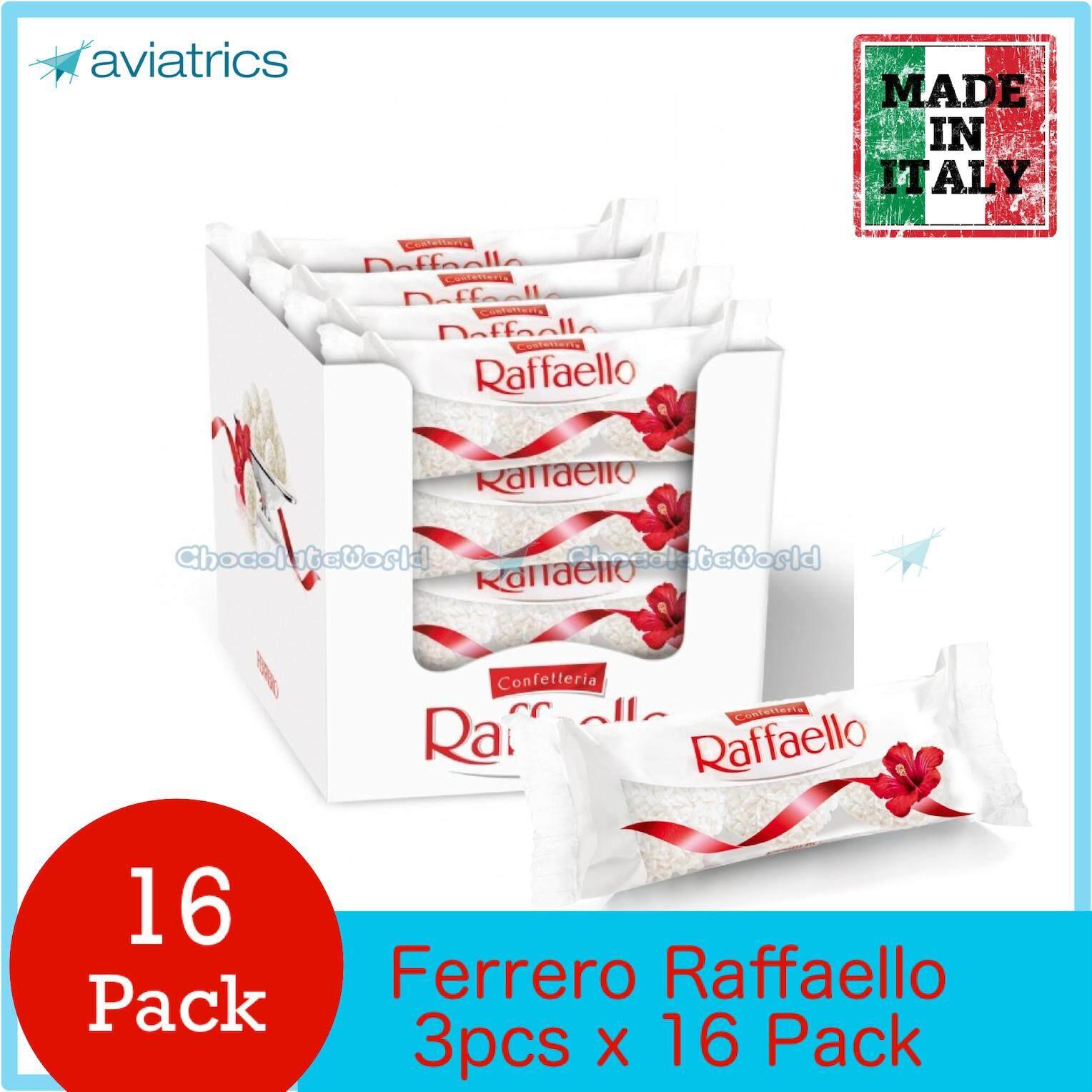 Ferrero Raffaello T3 Gift Pack X 16 (Made in Italy)(Made in Italy)