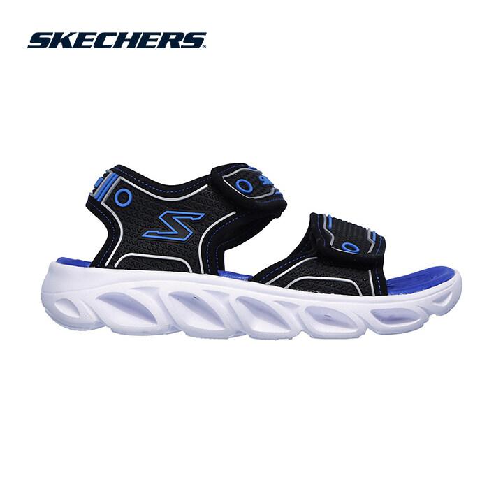 Skechers Hypno-Flash 3.0 Boys Lifestyle Shoe - 90522L-BKBL