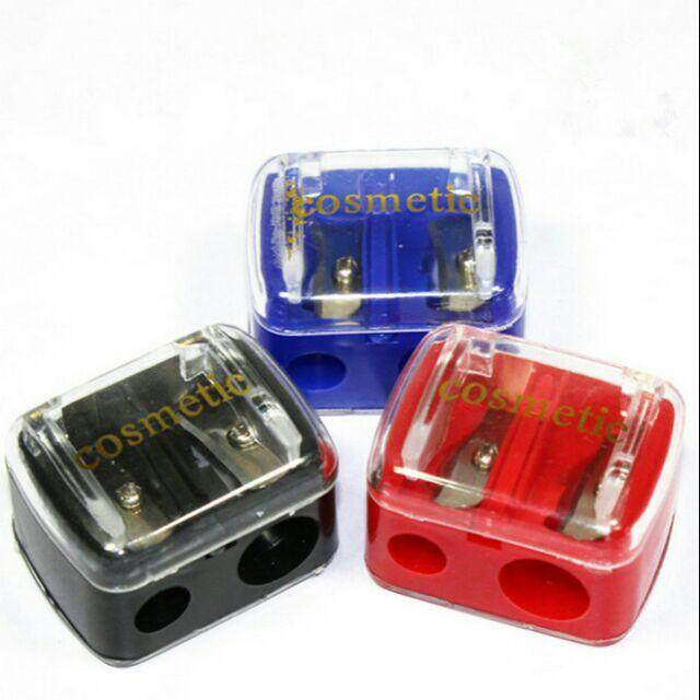 FREE GIFTCosmetic Sharpener Double Hole With Cover