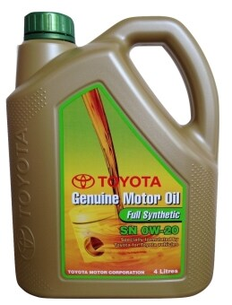 Harga 0W-20 Toyota Full Synthetic Genuine Motor Oil
