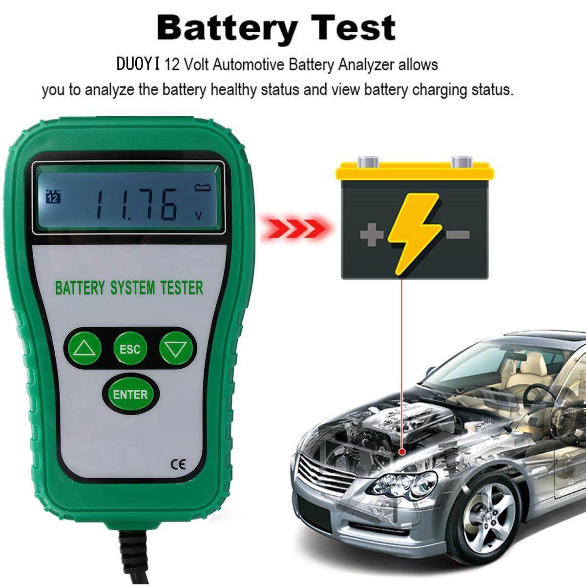 Generic 12V Digital Automotive Car Tester Analyzer With