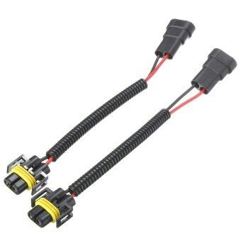 cek harga fanestiy 2x 50w 9005 9006 led error canbus fog load 2x 9006 to h11 h8 headlight fog light conversion connector wiring harness socket