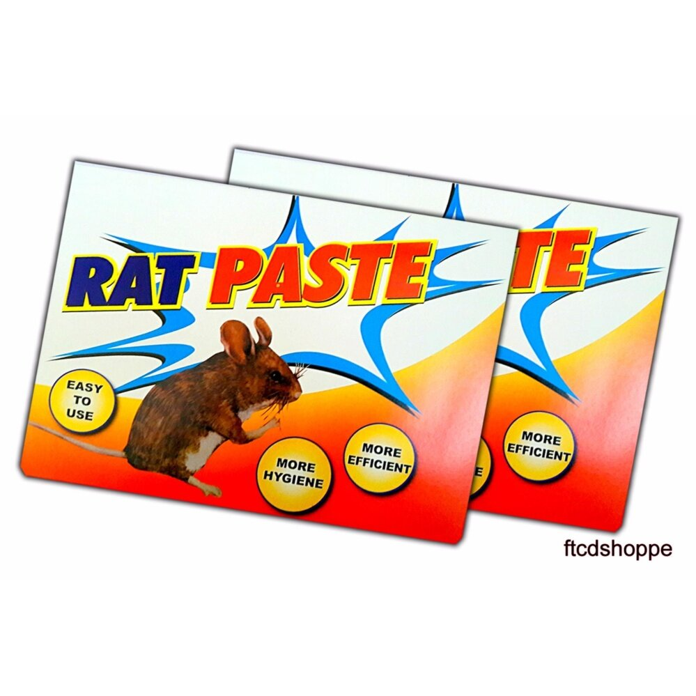 2x PCS Gam Perangkap Tikus & Lipas Rat / Mouse / cockroaches Glue Trap (RAT PASTE) + FREE GIFT!