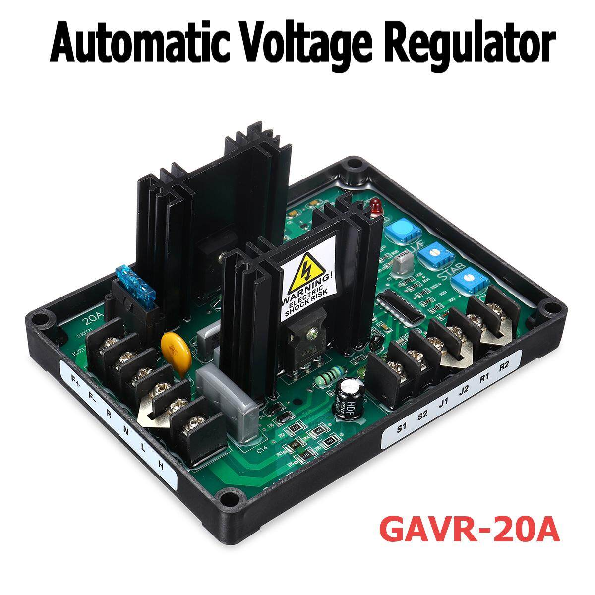 Buy Generic Avr Gavr 20a Automatic Voltage Regulator Generator Of Control And Regulation Its Input External Adjustment 7 With 1 K Ohm Watt Trimmer Unit Power Dissipation 8 Watts Maximum Thermal Drift 005 Per C Chage In Ambient