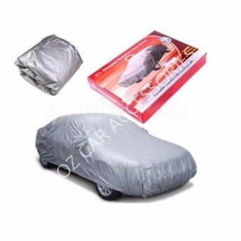 Harga 450cmX170cmX119cm S Size Yama High Quality Durable Car Covers Sunproof Dust-proof Water Resistant Protective Anti UV Scratch Sedan Cover ( Kancil Kelisa Viva Axia Myvi i10 Savvy Swift Satria Neo Jazz Getz Atos Picanto Mazda 2 CRZ Audi TT Beetle )