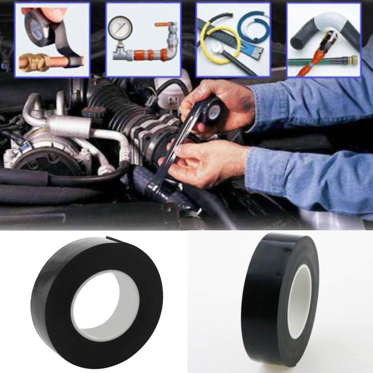 Buy Generic Self Amalgamating Repair Tape Rubber Waterproof Sealing Automotive Wire Harness Wrapping Image