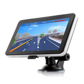 "Harga 704 Portable 7"" Touch Screen Truck Car GPS Navigation South America"