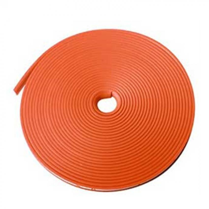 8M Vehicle Car Tuning Alloy Wheel Rim Protectors Tire Guard Line Rubber Moulding-Orange