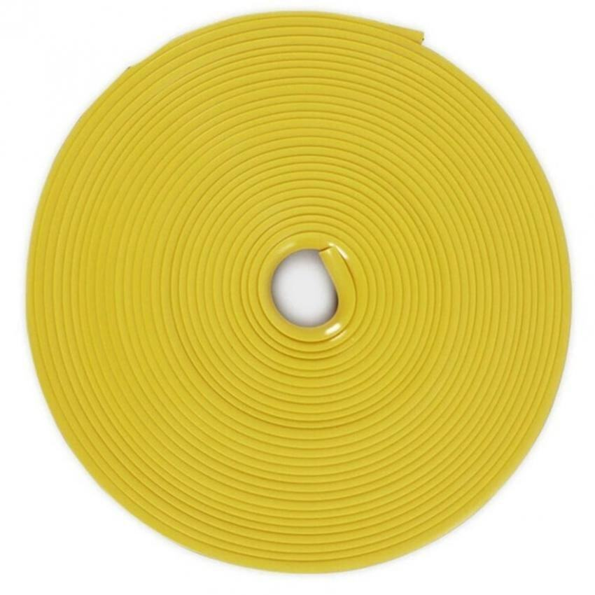 8M Vehicle Car Tuning Alloy Wheel Rim Protectors Tire Guard Line Rubber Moulding-Yellow