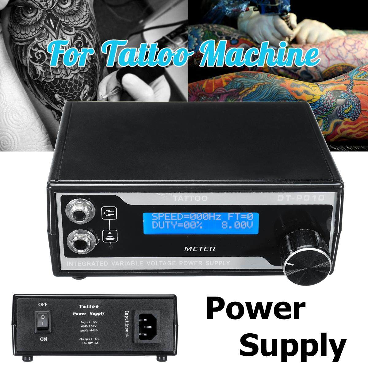 Buy Generic Ps002 Tattoo Machine Power Supply Ac 60 260v Convertible This Is A Regulated Dc With Short Circuit Protection And Leakage Image