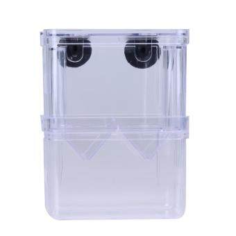 Harga Acrylic Fish Breeding Isolation Box Incubator for Fish Tank(L)