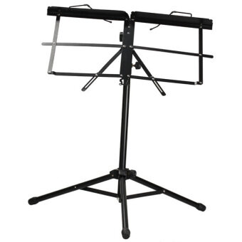 Harga Adjustable Metal Music Sheet Stand Folding
