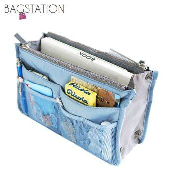 Harga BAGSTATIONZ Premium Lightweight And Water-ResistantMulti-Compartment Bag-In-Bag Organizer (Blue)