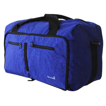 Harga Barry Smith Foldable Bag (Blue)