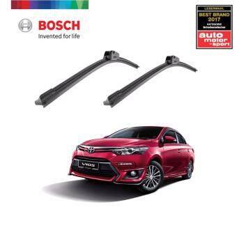 Bosch Clear Advantage Set Toyota Vios 2007- (SIZE: 24 inch + 14 inch) - 3397013804 + 3397013795